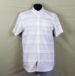 Oakley NWT Men's Stripe Woven S/S Shirt Sz M